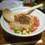 麺肴 ひづき - 冷やし汁なし担々麺