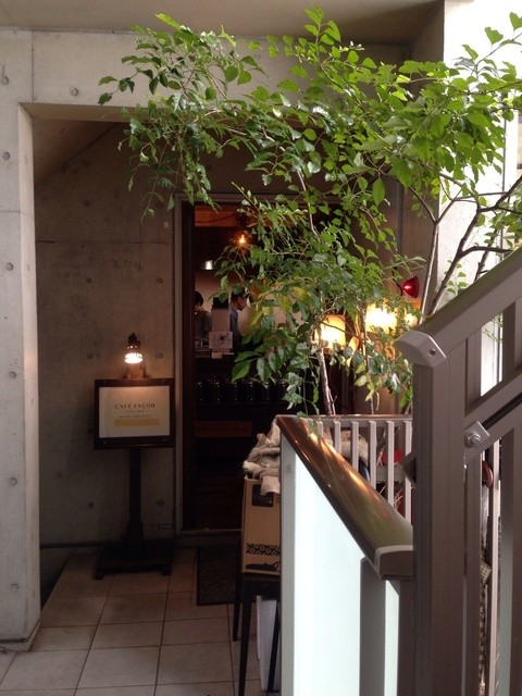 CAFE FACON - 入口