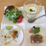 パッシオーネ - ランチ前菜