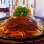 ハンバーグのみき - 料理写真:ハンバーグランチW(デミグラスソース)