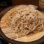吾里 - もり蕎麦。
