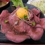 四つ葉 - ローストビーフ丼