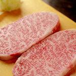 焼肉食道 かぶり - 肩ロースステーキ