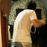 ア ミオ アージョ - 薪釜の超高温でわずか40秒の焼きの技!