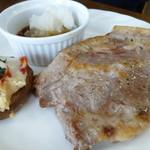 リセンヌ - 望来豚のステーキセット ジル コース ¥1500