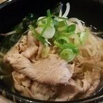 しゃぶ亭 - 締めの中華麺