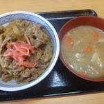 吉野家 - 牛丼、とん汁