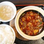 42762974 - 四川麻婆豆腐ランチ ¥980
