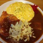 カレーの準泰 - 風水カレー、チーズトッピング