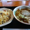 Tengu - 料理写真:半チャーハンセット