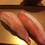 倉敷甲羅本店 - 絶品!カニ握り!