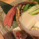 倉敷甲羅本店 - カニしゃぶしゃぶ