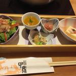 倉敷甲羅本店 - 前菜