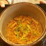 露庵 菊乃井 - 松茸の土鍋ご飯