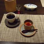 海山の蔵 - デザートとコーヒー(セットメニュー)
