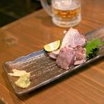 おりじん - 戻りかつお 塩たたき (680円) '15 7月下旬