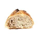 パンカフェフィセル - チーズはちみつくるみブラックペッパーの断面 '15 9月中旬