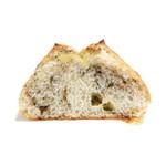 パンカフェフィセル - 2種ごまチーズの断面 '15 9月中旬