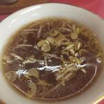 千成亭 - スープ