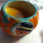 Souvenir - かぼちゃのプリン★       器かわいいけど何に使おう。。。