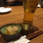 42767388 - ビール&お通し