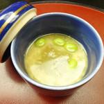 すみよし館 - 冬瓜の茶碗蒸し