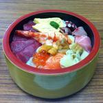 ふく島すし - 特上ちらし寿司