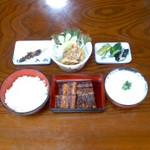 入船 - 入船(宮崎県西都市南方)うなぎ定食2800円 ※現在は2880円
