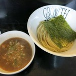 麺処グロース - ・「つけ麺 並(\730)」