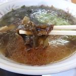 さとう食堂 - 利尻海藻ラーメン「銀杏草(みみこ)」