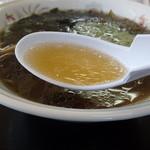 さとう食堂 - 利尻海藻ラーメン