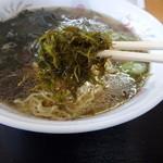 さとう食堂 - 利尻海藻ラーメン「ふのり」
