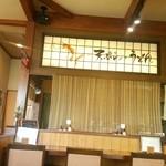 矢乃家 - 入口から左側のカウンター