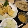 手打ちそば たかはし - 料理写真:エビとキスの天ぷらセイロ