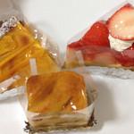 ノエル - タルトまで激好みのマンゴータルトと夏の苺タルト、リンゴケーキも好き