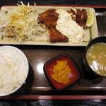 えびす屋 - 国産若鶏チキン南蛮定食(\680)