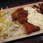 えびす屋 - 国産若鶏チキン南蛮定食(アップ)