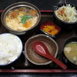えびす屋 - とんかつの玉子とじ定食(\700)