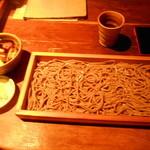 42777032 - 2015/10/7 鴨汁そば切り太麺で¥1100(税別)大盛り+¥200(税別)