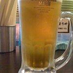 立ち寄りや - 生ビール¥350-
