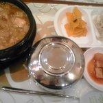 韓国料理 ドントン - 味噌チゲ定食 680円