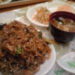 韓国料理 ドントン - プルゴギ定食