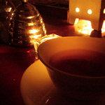 花論珈琲茶房 - ブルーベリーティー