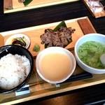 gyuutanyakitodategohandatenariya - 牛タン定食