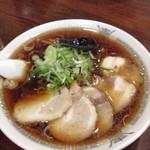 たかみ屋 - チャーシュー麺