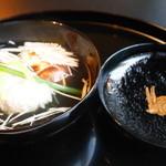 HANA吉兆 - お椀 鱧と松茸