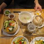 42793613 - 飲茶ランチセット(1000円)