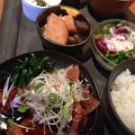 kawara CAFE&DINING + plus - 和食膳ランチ豚の角煮