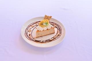 アナログ渋谷 - 濃厚バナナのベイクドチーズケーキ