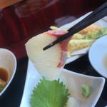さんまちゃん - 真鯛のお刺身
